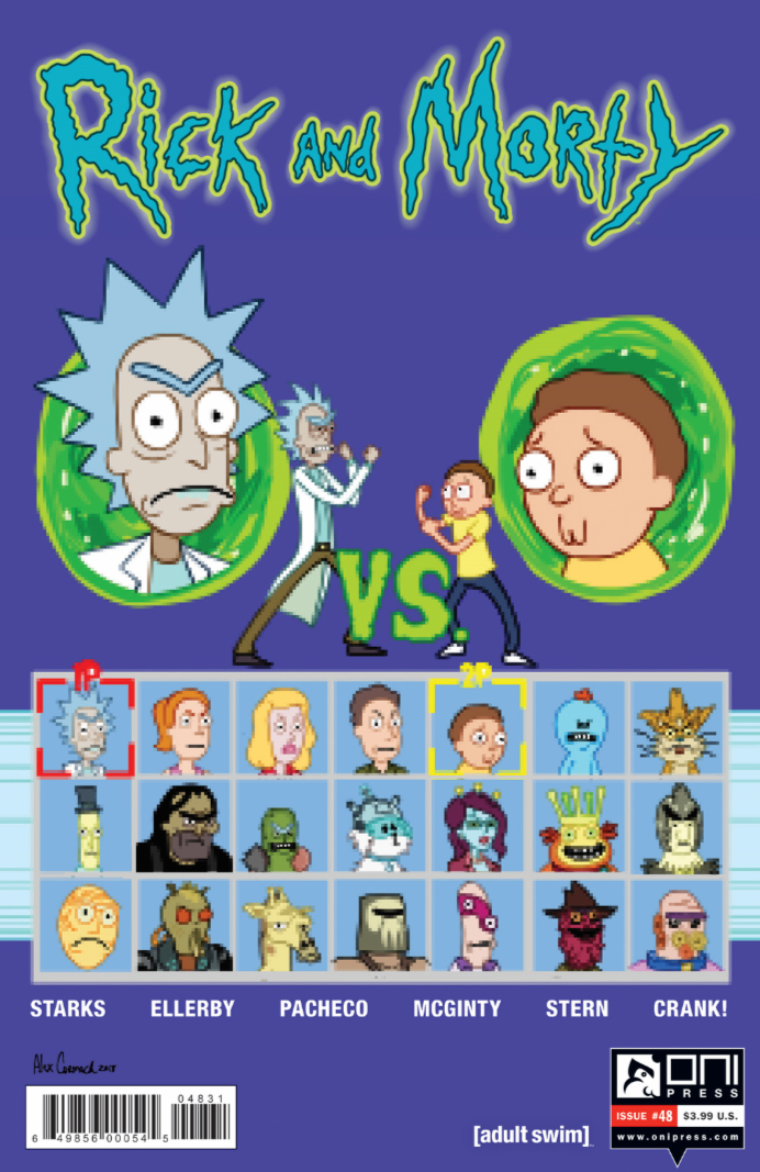 Rick and Morty Issue 48