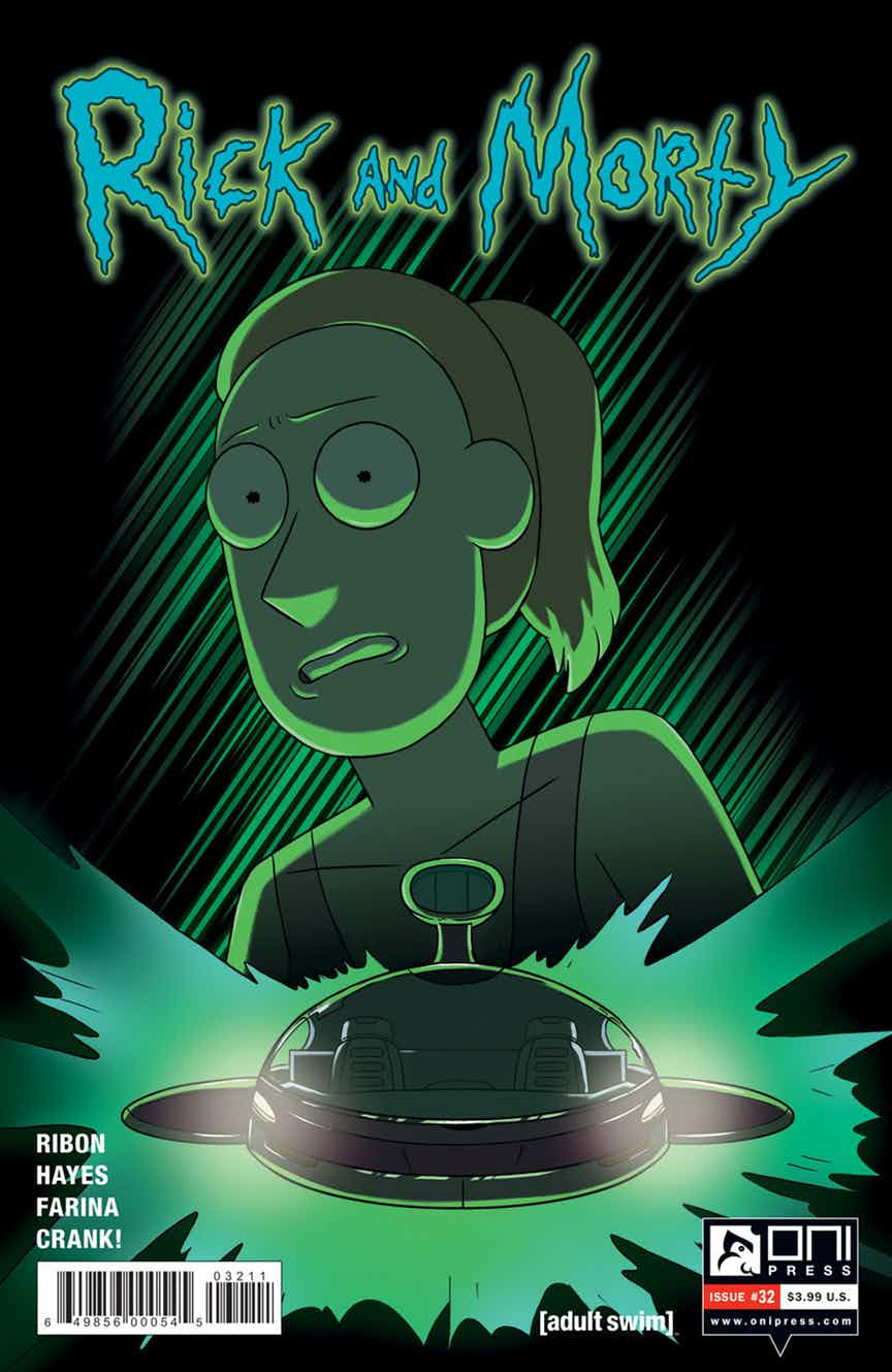 Rick and Morty Issue 32