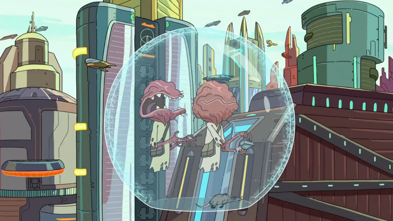 Rick and Morty Time Sync Device