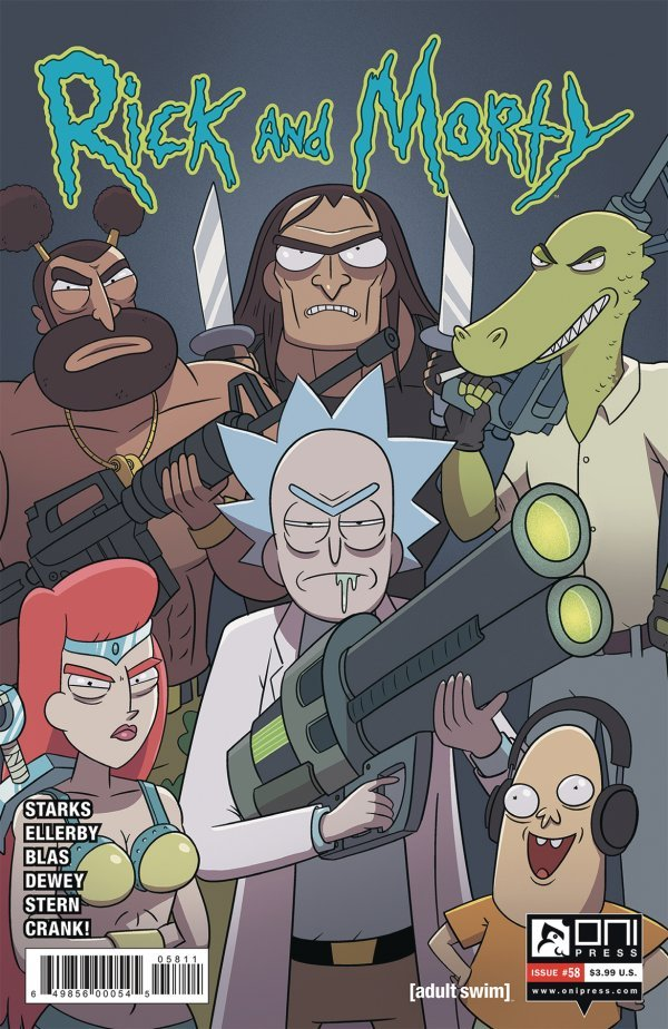 Rick and Morty Issue 58