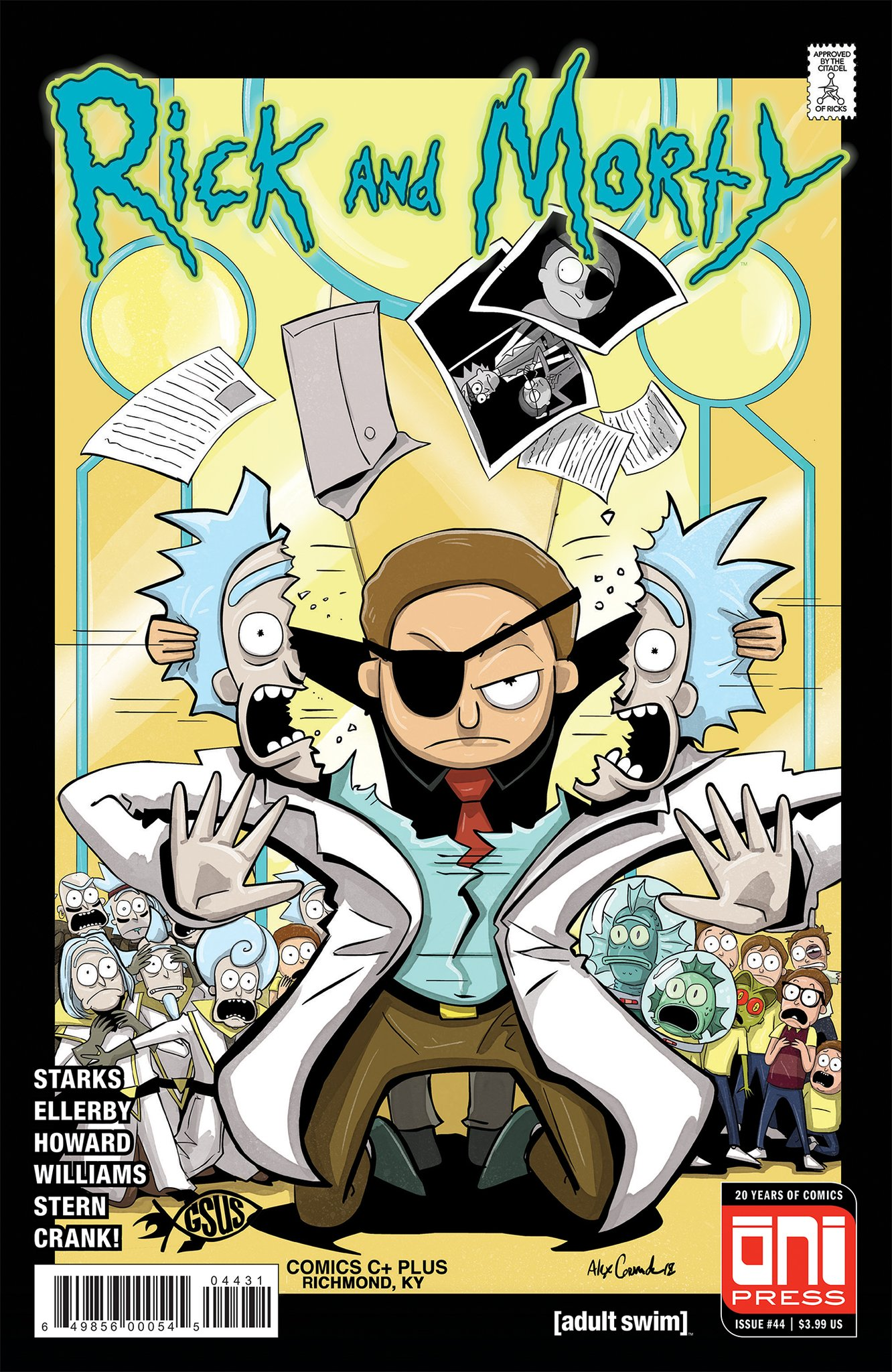 Rick and Morty Issue 44