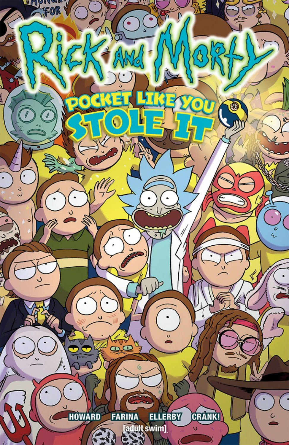 Rick and Morty: Pocket Like You Stole It (volume)
