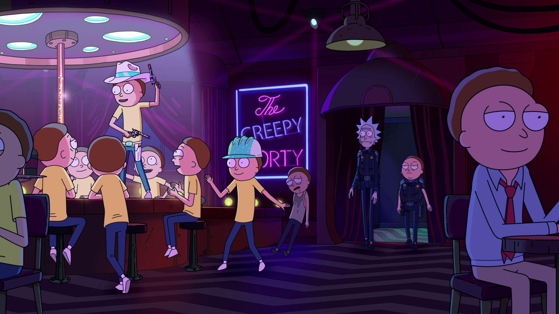 The Creepy Morty