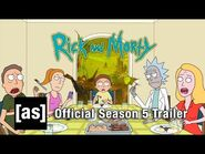 OFFICIAL TRAILER- Rick and Morty Season 5 - adult swim