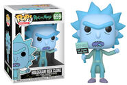 Funko-Pop-Ricky-and-Morty-Figures-659-Hologram-Rick-Clone