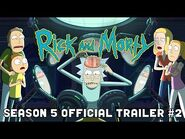 OFFICIAL TRAILER -2- Rick and Morty Season 5 - adult swim