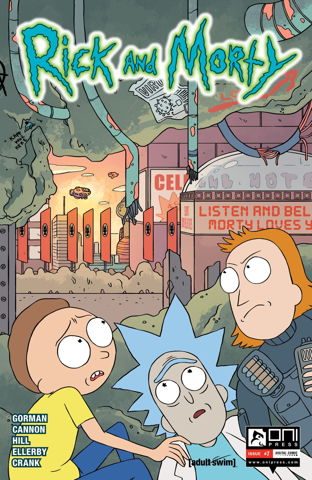 Rick and Morty Issue 7