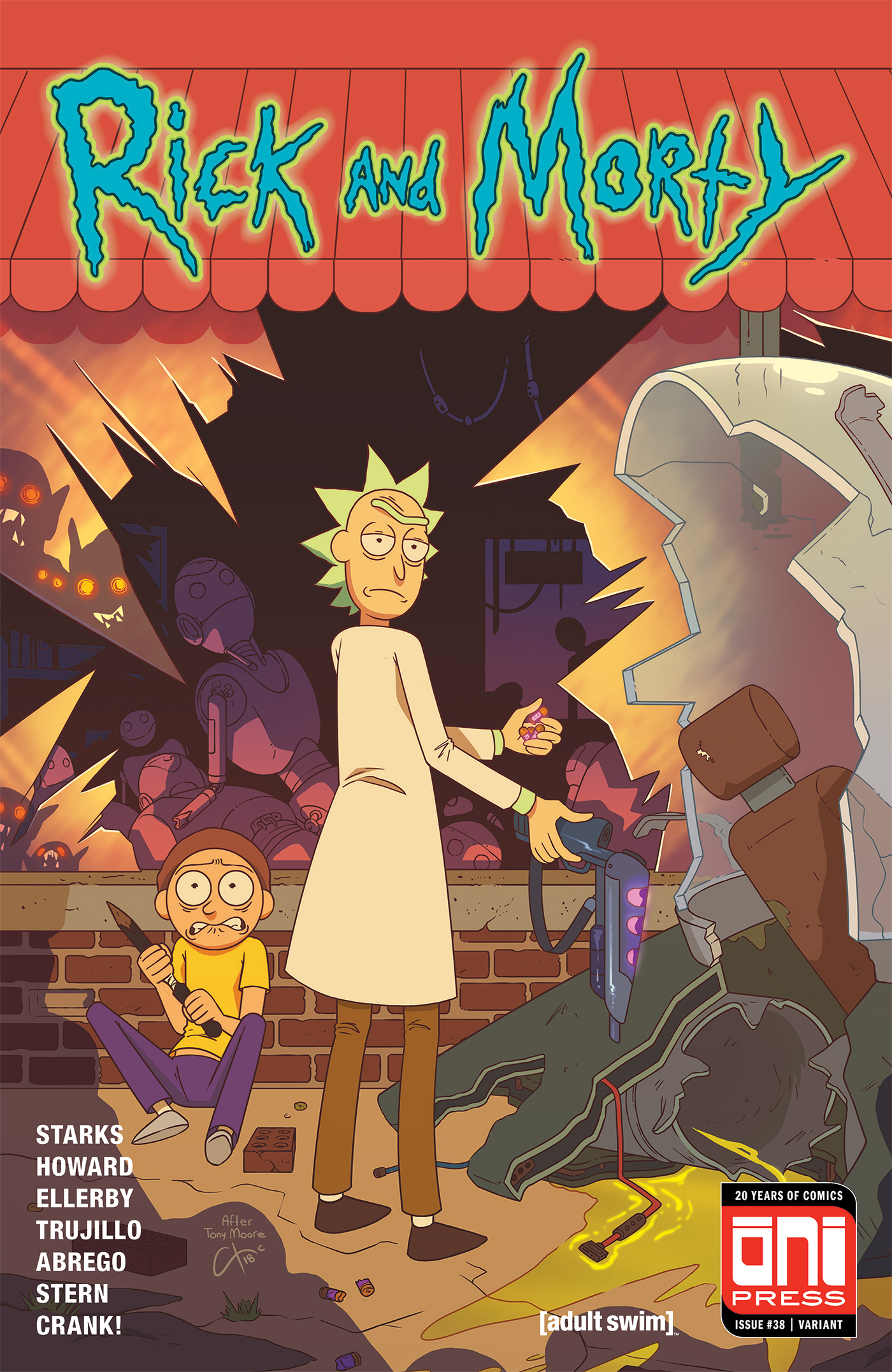 Rick and Morty Issue 38