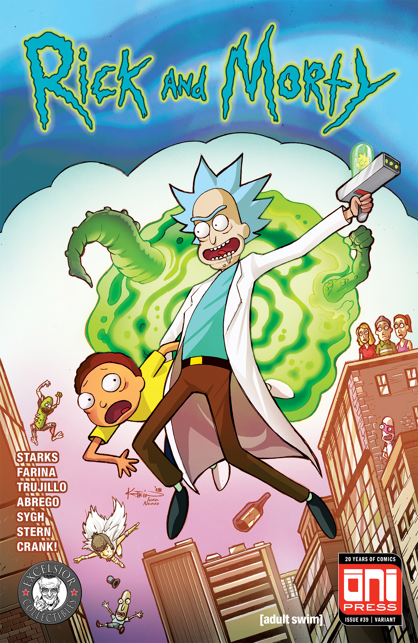 Rick and Morty Issue 39