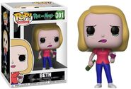 Funko-Pop-Rick-and-Morty-301-Beth-with-Wine