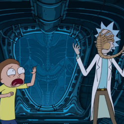 Alien: Covenant Rick and Morty