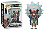 Funko-Pop-Ricky-and-Morty-Figures-956-Rick-with-Glorzo