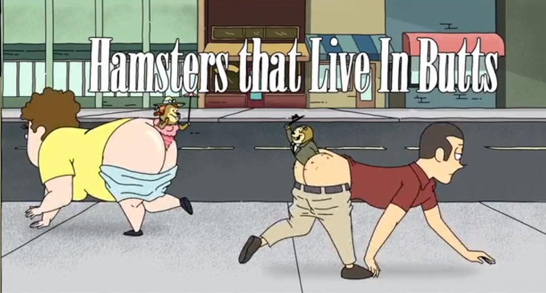 Hamster in Butt World