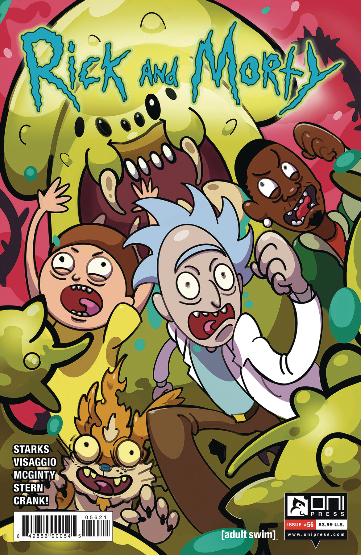 Rick and Morty Issue 56