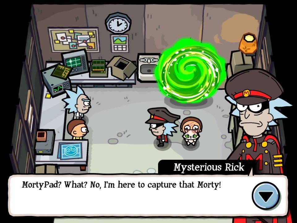 Mysterious Rick
