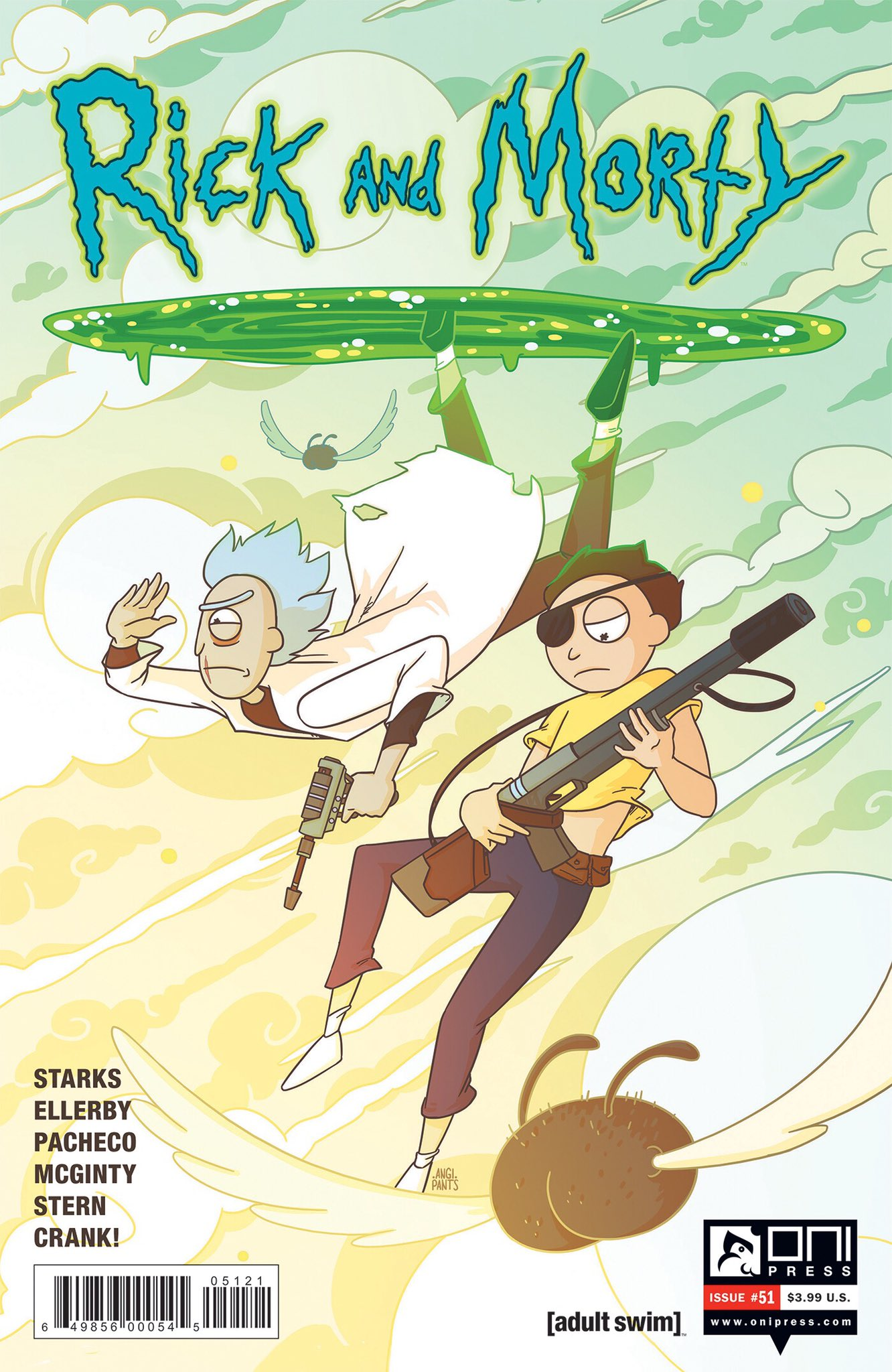 Rick and Morty Issue 51