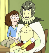 Tammy and Bird Person