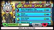Pocket mortys salesman ricks H 0116