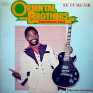 Oriental Brothers 1984 front