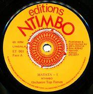 Editions Ntimbo ET 001 L1 1000