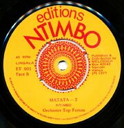 Editions Ntimbo ET 001 L2 1000