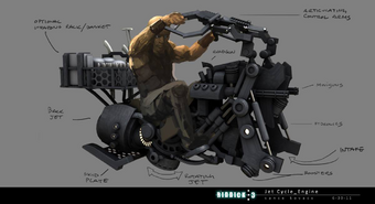 Jet Cycle Engine Concept