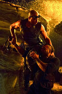 Riddick Fighting Diaz