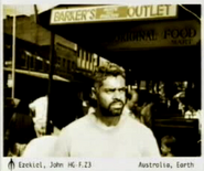 John Ezekiel on Earth