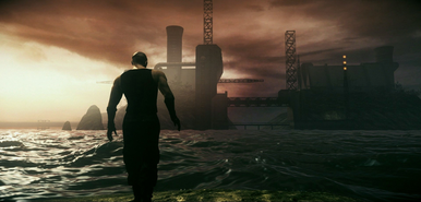 Riddick on Aguerra Prime