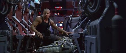 Riddick in Skiff