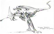 Bioraptor Concept Art 1