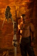 Riddick With Bone Weapon