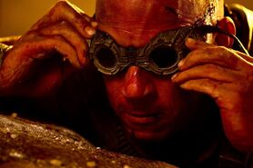 Riddick with Broken Goggles