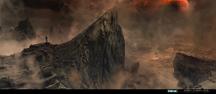 Nightfall at Demon's Peak Concept