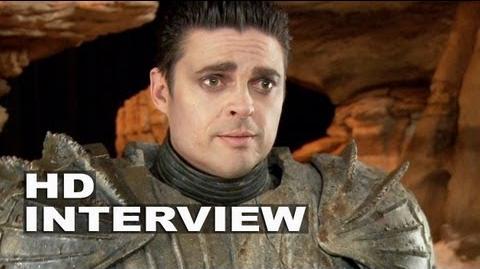 "Riddick Karl Urban ""Vaako"" On Set Interview"
