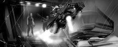 Riddick on Jet Hog Concept