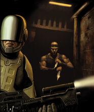 Riddick GameInformer Art