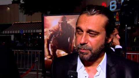 Riddick Jordi Molla World Premiere Interview