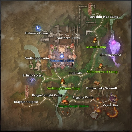 Brakarr Forest Map.png