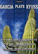 Garcia Plays Kyuss Tour
