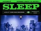 Sleep Live at Third Man Records