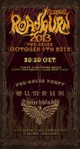 Roadburn 2013 - Pre-Sales Party