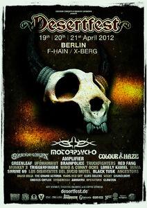 Desertfest Berlin 2012 Poster