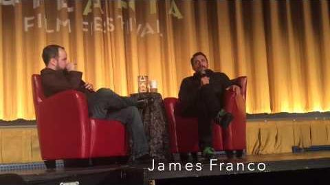 3 23 15 James Franco Clip 3 2015 Atlanta Film Festival Day 4