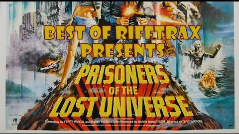 Best of RiffTrax Prisoners of the Lost Universe