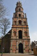 Westzijde toren