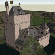 Reconstructie Kasteel Middelburg