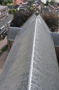 Dakaanzicht NH kerk te Bergambacht
