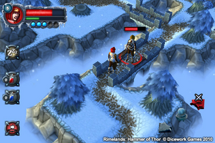 Rimelands screenshot outside