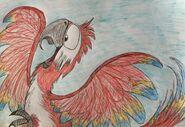 Happy macaw